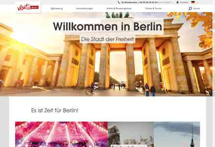 Visit Berlin Screenshot